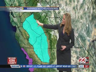 Friday forecast: freezing morning & mild afternoon