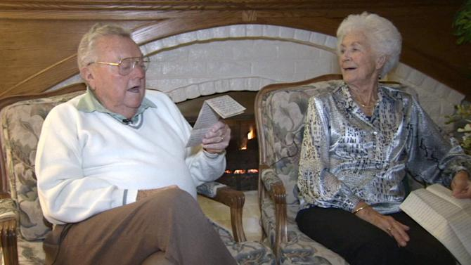 Stolen love letters from WWII returned to Rancho Cucamonga couple