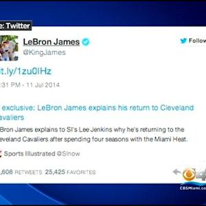 Celebrities React To King James Decision
