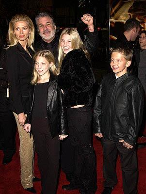Jon Peters and family at the Hollywood premiere of Ali