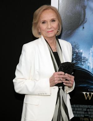 "FILE - In this Feb. 11, 2014 file photo, actress Eva Marie Saint attends the world premiere of ""Winter's Tale"" in New York. The Oscar-winning actress of ""On the Waterfront"" and ""North by Northwest"" fame talks about her career in the TCM special airing Monday, March 31, 2014. (Photo by Andy Kropa/Invision/AP, file)"