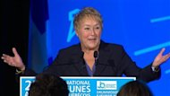 La premire ministre Pauline Marois a ouvert le Conseil national du Parti qubcois (PQ),  Drummondville, enlivrant un plaidoyer en faveurd&#39;un compromis entre la gratuit scolaire et une hausse importante des frais de scolarit