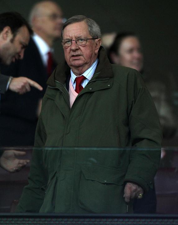 Peter Hill-Wood, pictured, has reiterated his backing for Arsenal Wenger