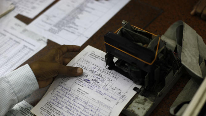 Stop ... India sends its last telegram