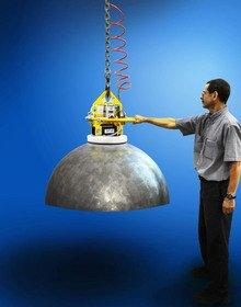 Anver Vacuum Lifter Handles Domes and Spheres