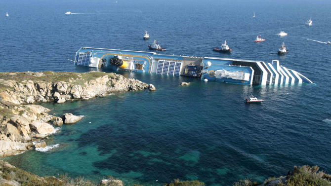Italy: Concordia to be set upright next week