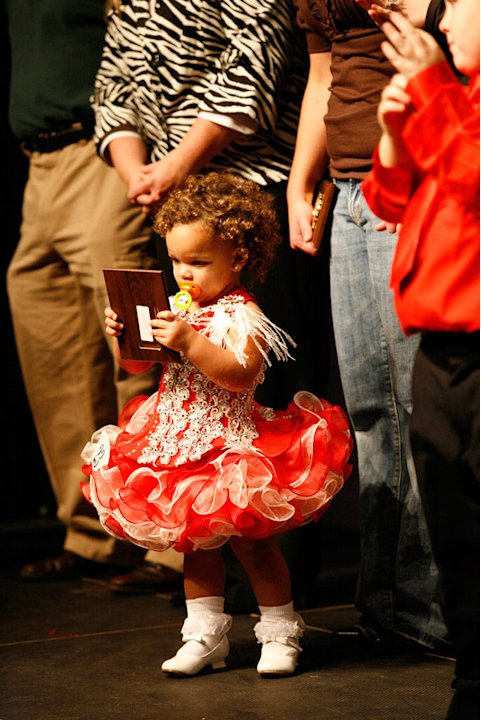 "Amira competes in the Southern Celebrity Beauty Pageant in Charleston, West Virginia as seen in ""Toddlers & Tiaras."""