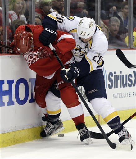 Predators-Red Wings Preview