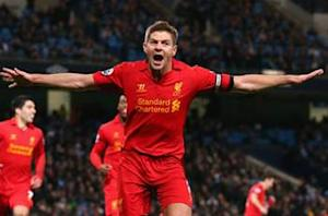 Gerrard looking for 'perfect finish' as Liverpool targets top four