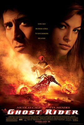 Nicolas Cage and Eva Mendes star in Columbia Pictures' Ghost Rider