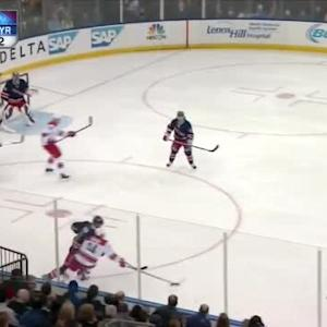 Kevin Klein Hit on Nathan Gerbe (07:23/2nd)