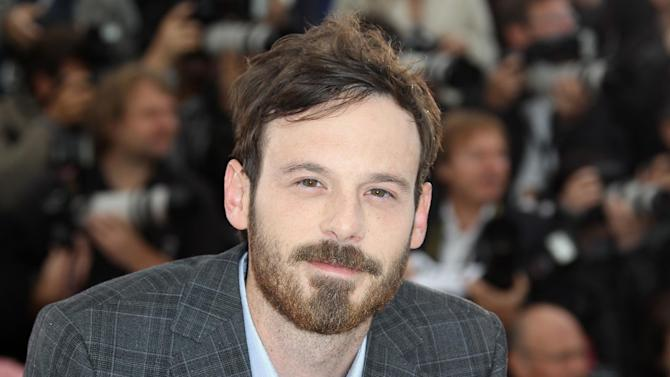US actor Scoot McNairy is one of three actors to star in Prada's fall menswear ad campaign.