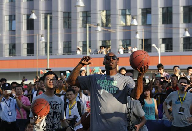 China Basketball Kobe Bryant