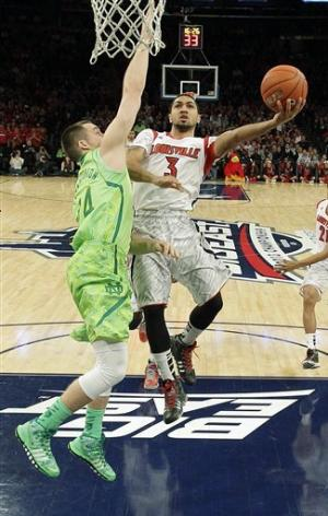No. 4 Louisville beats No. 24 Notre Dame 69-57