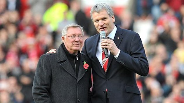 David Gill, right, said Sir Alex Ferguson's successor would be expected to take an interest in the club from top to bottom