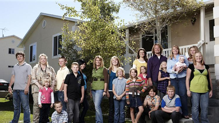 "Brown family portrait as seen on ""Sister Wives."""
