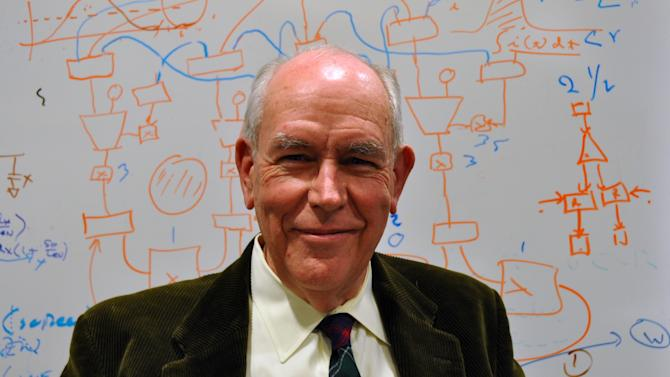In this undated photo released by the Inamori Foundation, American computer scientist Ivan Sutherland, of Portland State University, is shown. Sutherland, 74, has won Japan's annual Kyoto Prize for his contributions to computer graphics technology and interactive interfaces that allow people to use computers without the need for complicated programming. Sutherland was named the winner Friday, June 22, 2012, in the category of advanced technology. (AP Photo/The Inamori Foundation) EDITORIAL USE ONLY