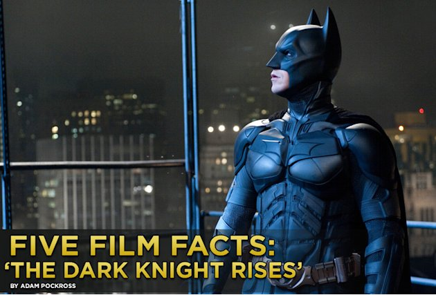 Five Film Facts The Dark KNight Rises