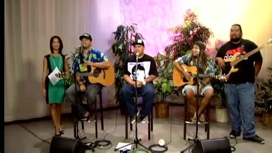 Maoli stops by KITV4 before heading out on tour