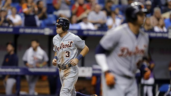 Tigers score 3 in 11th, top Rays 8-6
