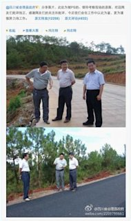 sina-weibo-huili-county - One of the worst doctored photographs in Internet history?  - Jokes and Humor