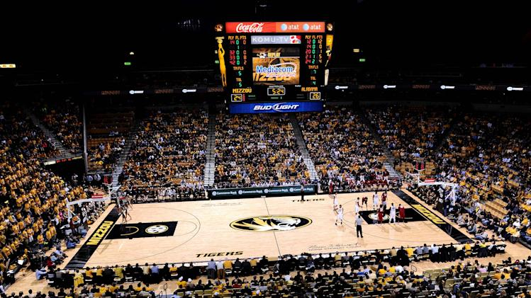 NCAA Basketball: Alabama at Missouri
