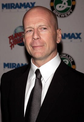 Bruce Willis at the New York premiere of Miramax Films' Hostage