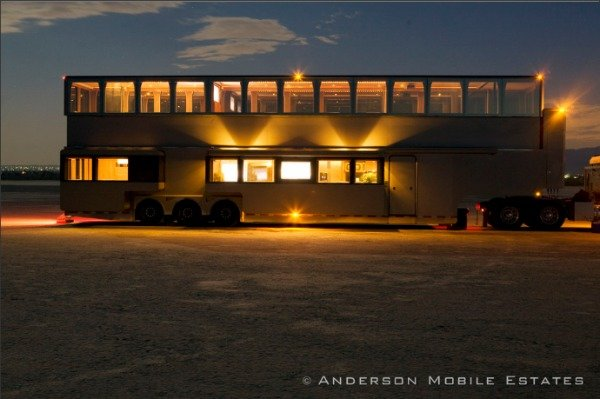 Ashton travels in style (Anderson Mobile Estates)