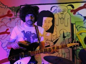 This 2012 photo shows Yellow Dogs band member, guitarist…