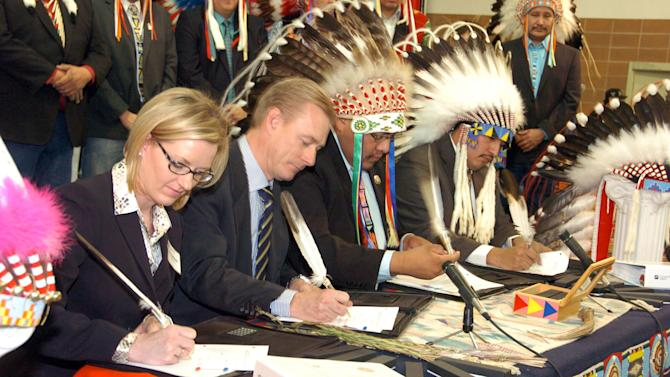 Mont. tribe signs coal deal with Wyo. company