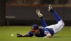 Darvish scratched with stiff neck; Lowe fills in