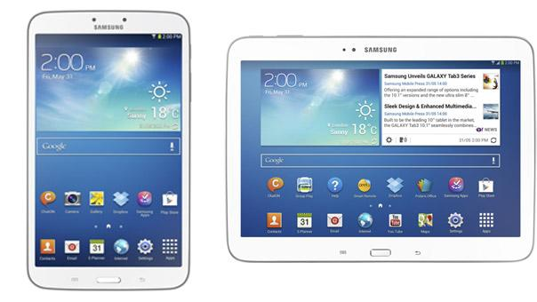 Samsung debuts two new Galaxy Tab 3 tablets for June launch
