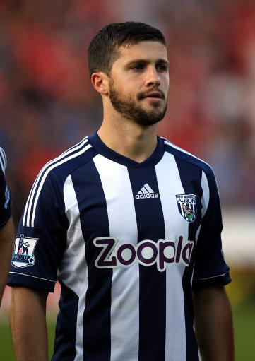 Shane Long, pictured, put West Brom ahead in the 51st minute but Darren Bent equalised late on for the home side