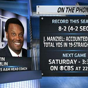 Kevin Sumlin talks LSU match-up
