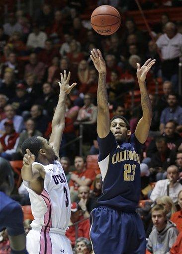 Allen Crabbe lifts California over Utah 62-57