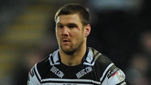 Kirk Yeaman scored a hat-trick for Hull FC