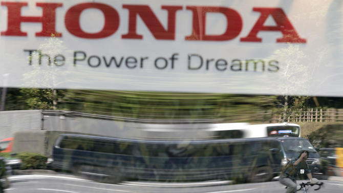 Honda quarterly profit up 46 percent on US sales