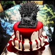 Bloody Game of Thrones Cake