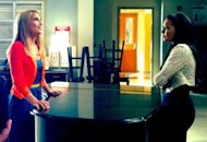 Dianna Agron and Naya Rivera | Photo Credits: Ryan Murphy/Twitter