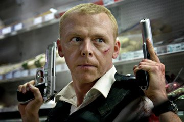 Simon Pegg in Rogue Pictures' Hot Fuzz