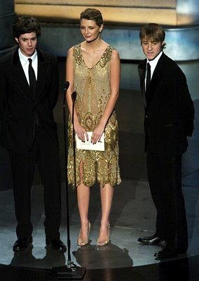 Adam Brody, Mischa Barton and Benjamin McKenzie Presenters for Outstanding Directing in a Drama Series Emmy Awards - 9/19/2004