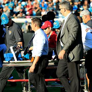 Jacksonville Jaguars WR Allen Hurns taken to hospital with concussion