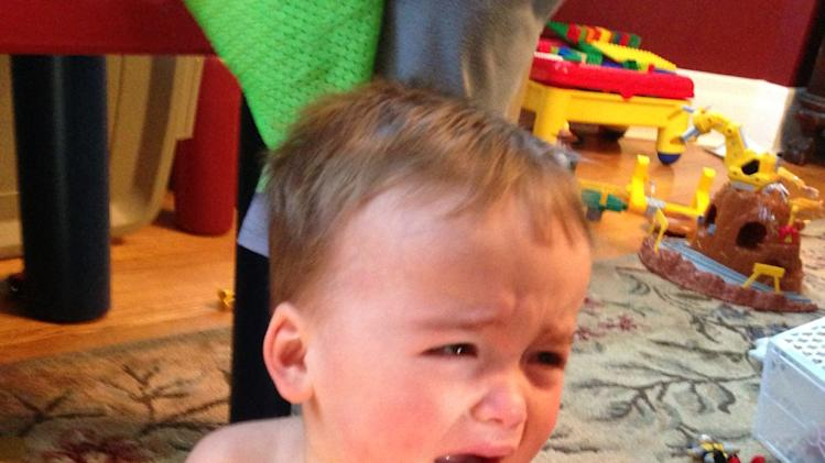 Dad chronicles sons temper tantrums on tumblr