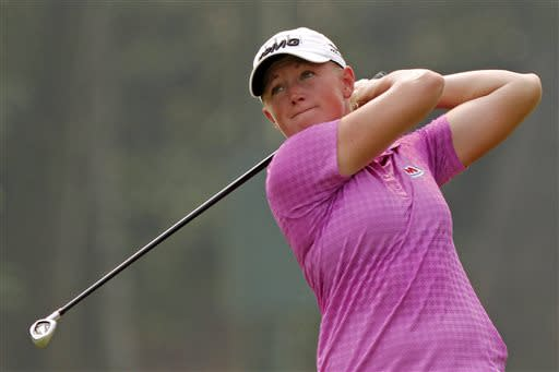 Lewis leads LPGA Thailand by a shot after 3rd-round 73