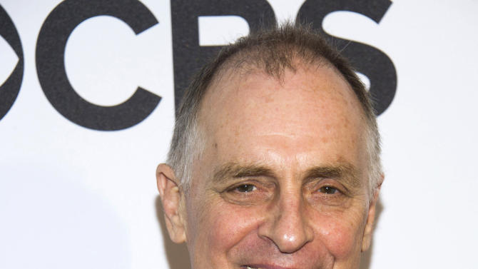 """FILE - This May 1, 2013 file photo shows Keith Carradine at the 2013 Tony Awards Meet the Nominees press reception in New York. Carradine is nominated for a Tony Award for best performance in a featured role for """"Hands on a Hardbody."""" (Photo by Charles Sykes/Invision/AP, file)"""
