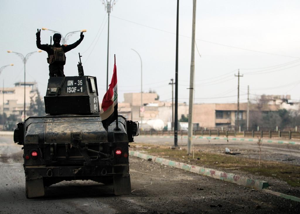 Iraq forces take two more areas in east Mosul