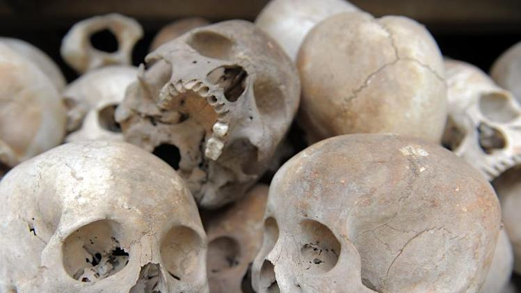 Up to two million people died from starvation, overwork and execution during the Khmer ROuge regime from 1975 to 1979