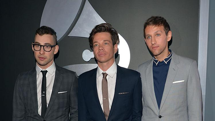 Jack Antonoff, Nate Ruess, and Andrew Dost of Fun.