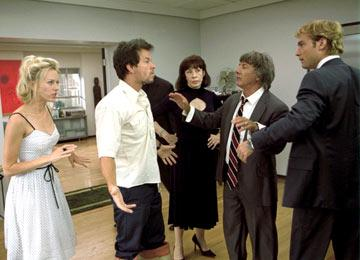 Naomi Watts , Mark Wahlberg , Lily Tomlin , Dustin Hoffman and Jude Law in Fox Searchlight's I Heart Huckabees