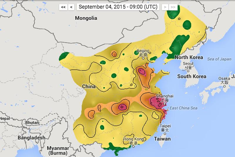 See China's air pollution in real-time